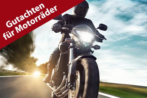 Gutachten für Motorräder