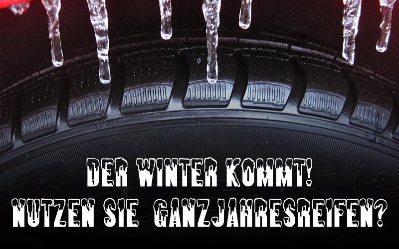 Der Winter kommt und damit auch eine erhöhte Unfallgefahr