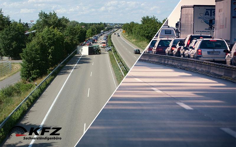 Moderne LKW und die Unfälle