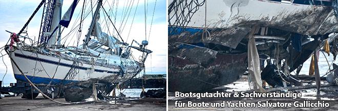 Bootsgutachter & Sachverständige für Boote und Yachten
