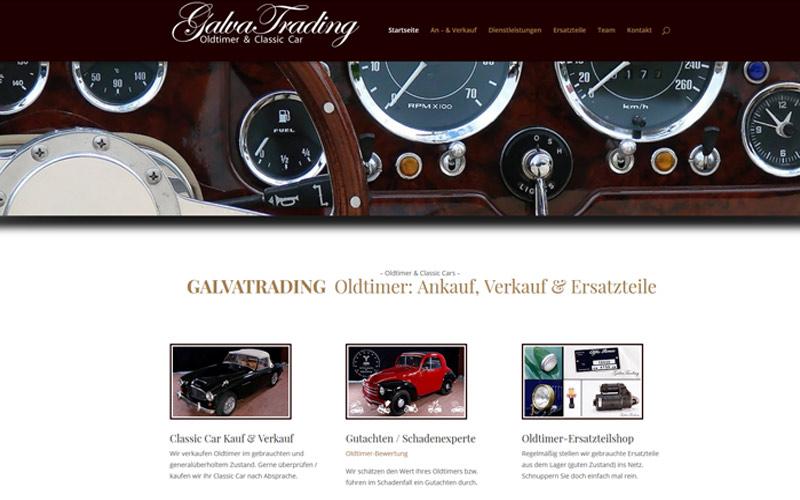 GALVATRADING Oldtimer: Ankauf, Verkauf & Ersatzteile
