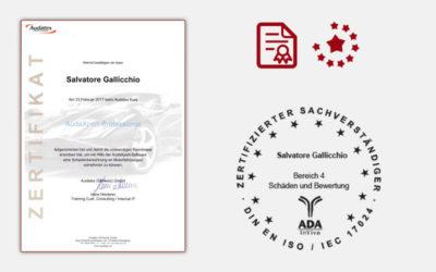 Audatex Schadenberechnung an Motorfahrzeugen Basic & Professional