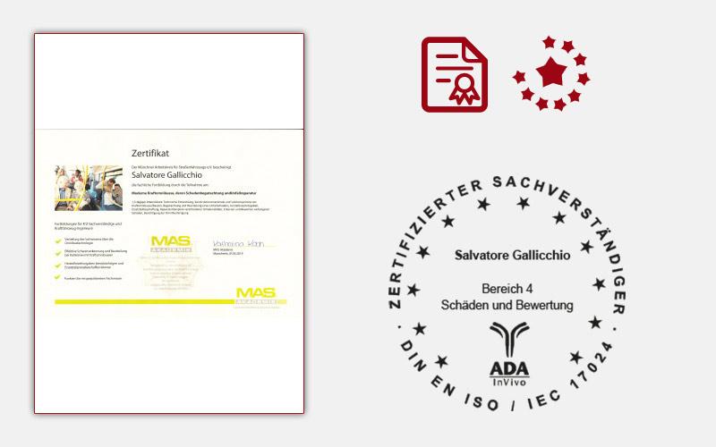 Zertifikat MAS Kraftmonibus