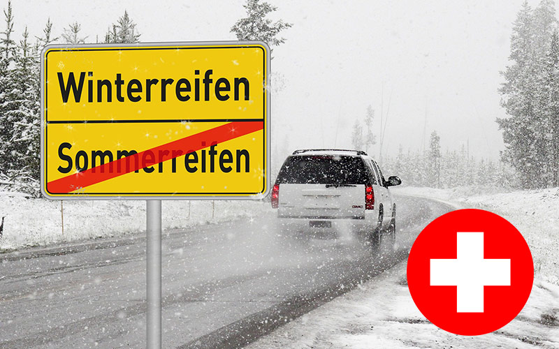 Winterausrüstung in der Schweiz Vorschrift?