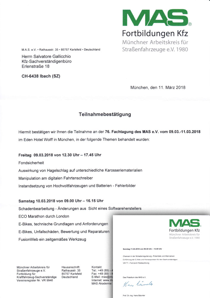 76. Fachtagung des MAS e.V.