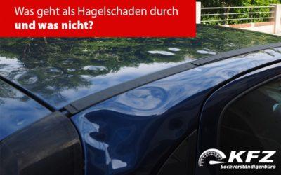 Hagelschaden, Sturmschaden oder Überschwemmungsschaden: Wer zahlt den Schaden am KFZ?