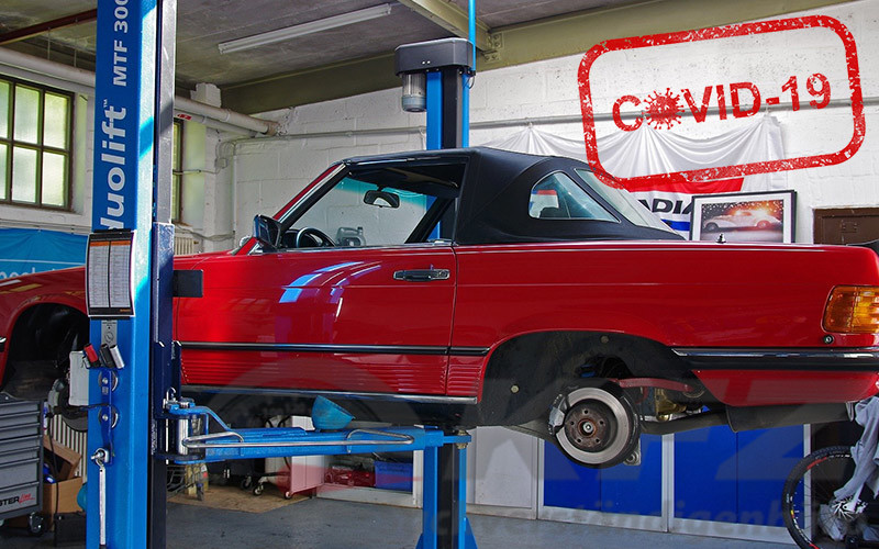 Covid-19 | Aktualisierten Schutzkonzepte für die Kraftfahrzeug Branche