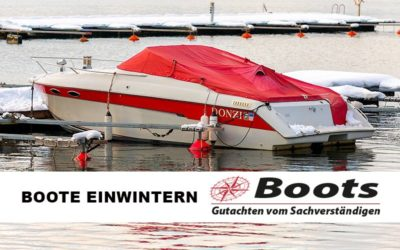 Boot / Yacht richtig einwintern