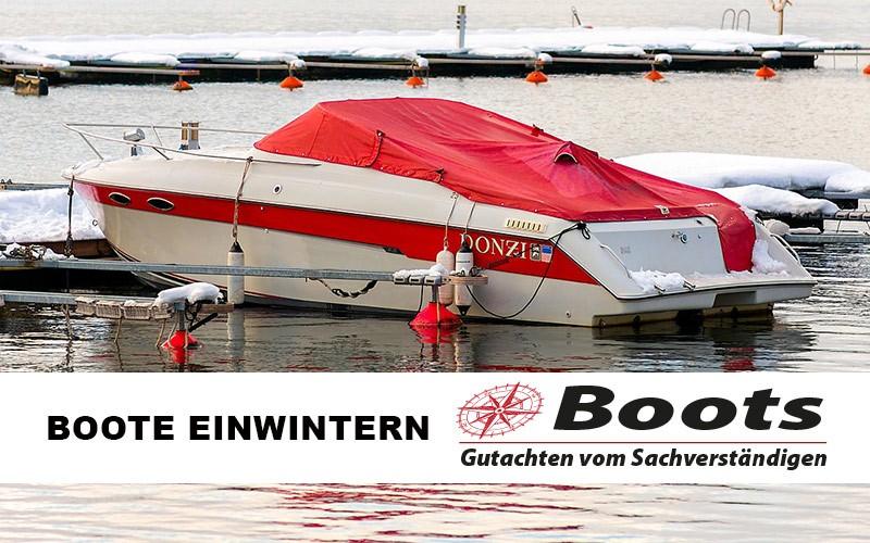 Boote-einwintern
