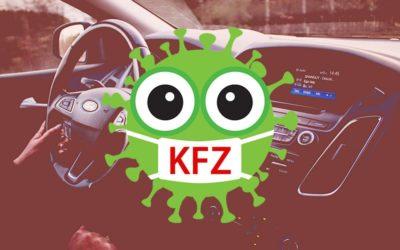 Hygienekonzepte für den KFZ-Bereich